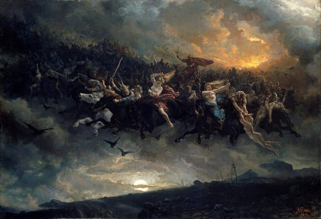 The Wild Hunt of Odin