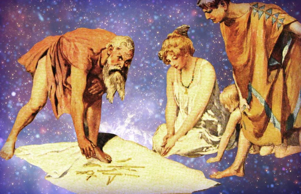 Rune Divination by Emil Doepler (1905) and Arthur Koopmans