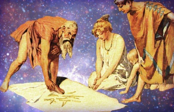 Rune Divination by Emil Doepler (1905) and Arthur Koopmans