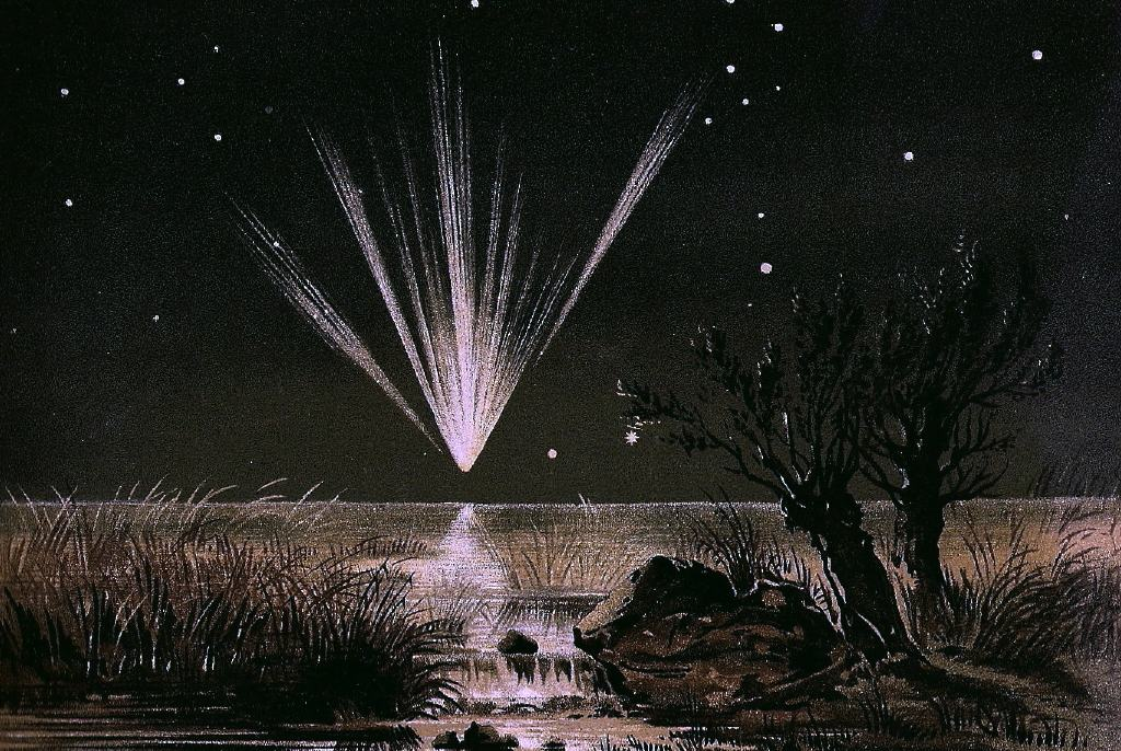 Great Comet of 1861 by E. Weiss