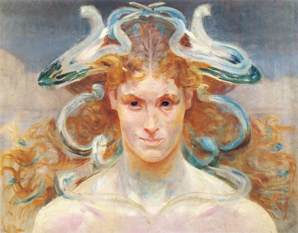 Medusa by Jacek Malczewski (1900)