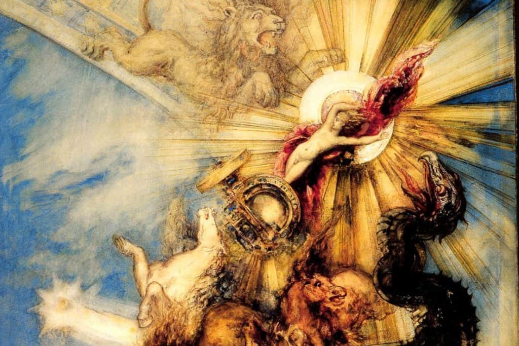 Phaëton by Gustave Moreau (1878)