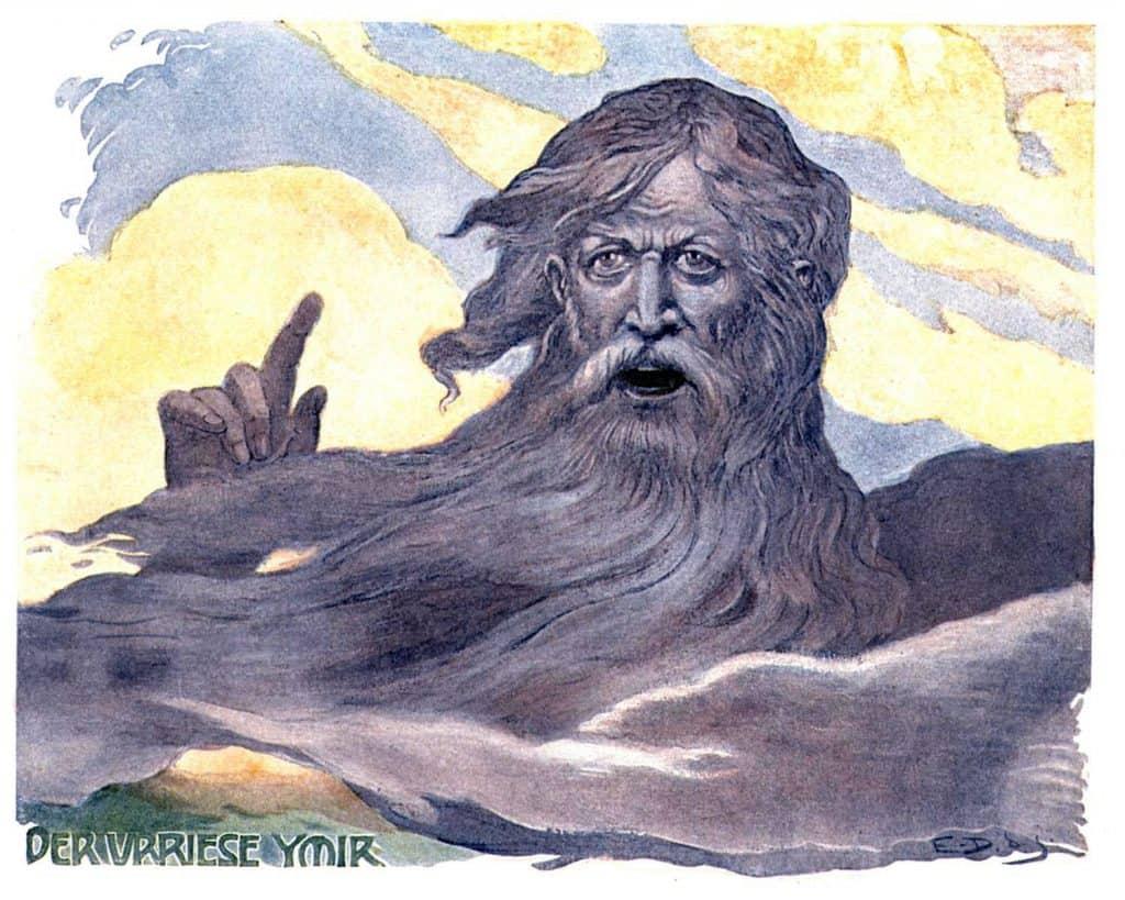 The Giant Ymir by Emile Doepler (1900)