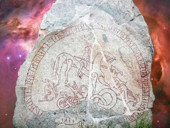 The Böksta Runestone and the constellations