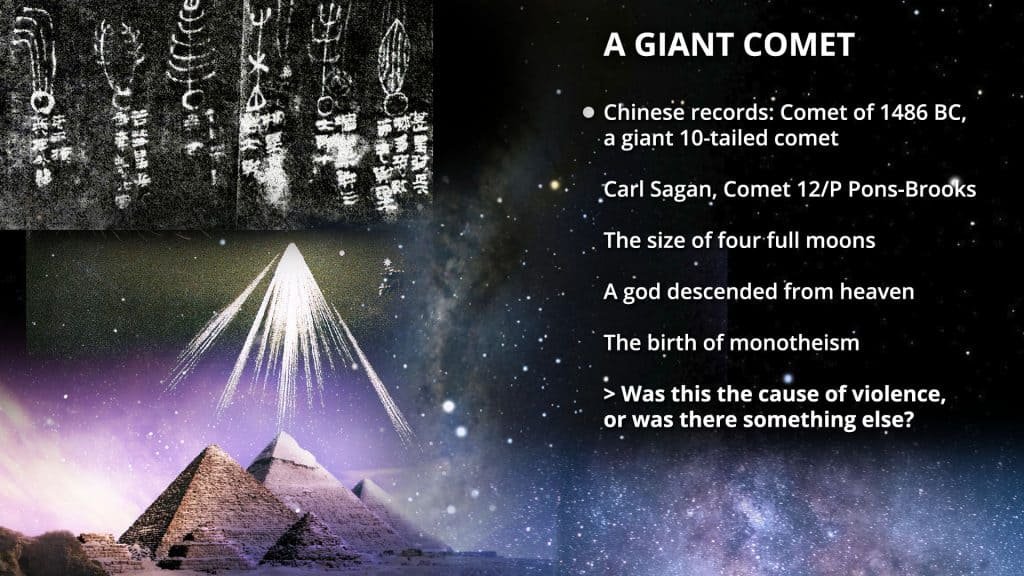 A giant comet, Graham Philips, Mind Escape Podcast with Arthur Koopmans