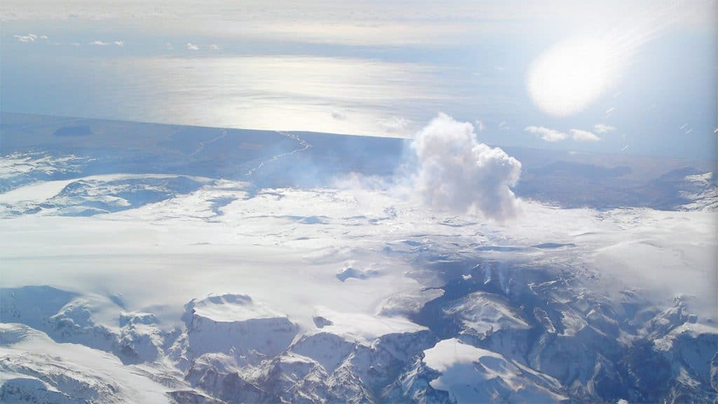 comet impact into the North American ice sheet at the Younger Dryas