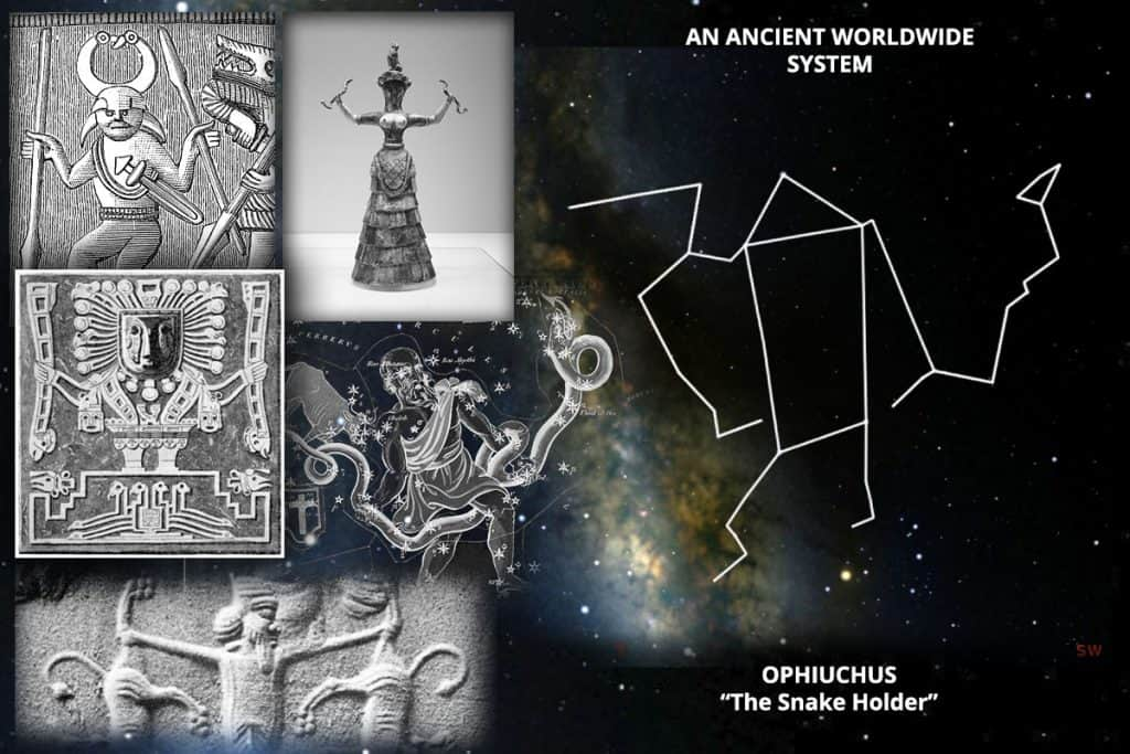 constellation Ophiuchus and the god-self icon of Richard Cassaro