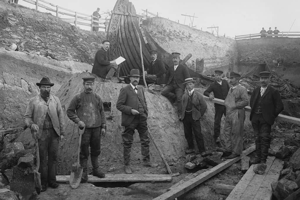 Excavation of the Oseberg Ship (1904-1905)