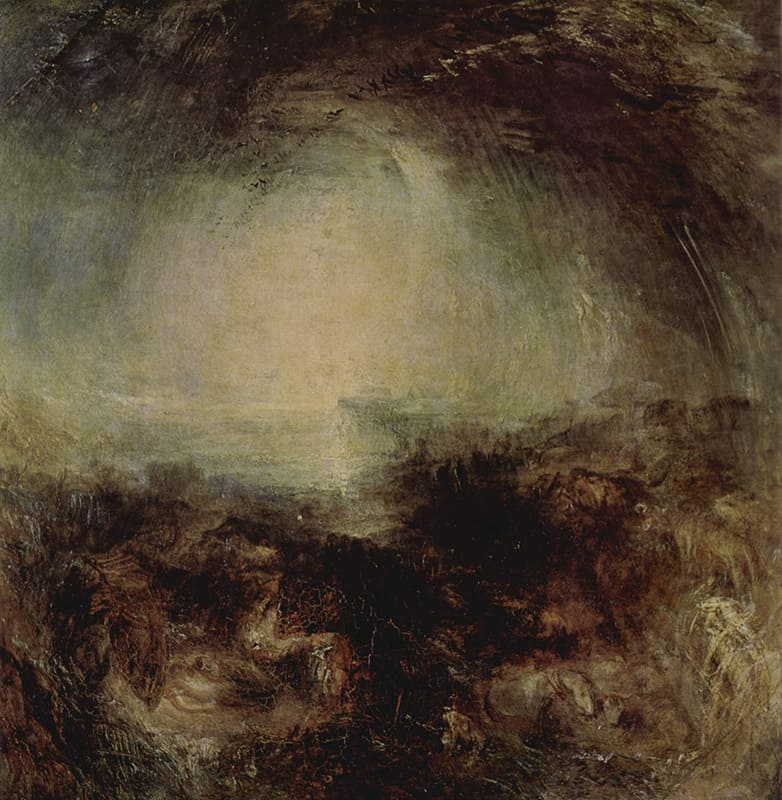 The Deluge by J.M.W. Turner