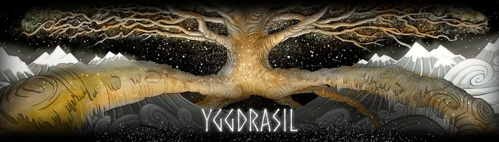 Yggdrasil World Tree Banner by Secrets of the Norse
