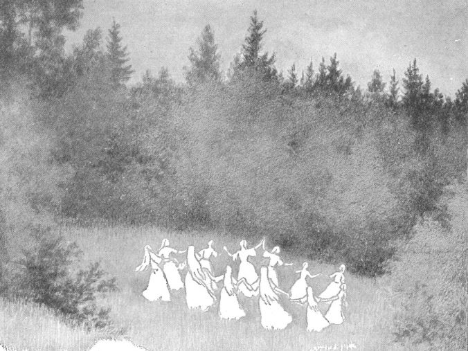 Norns or Elves by Evening - Theodor Kittelsen